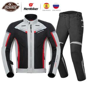 Herobiker Motosiklet Ceket Erkekler Su Geçirmez Moto Ceket Motosiklet 4 Sezon Motosiklet Sürme Moto Kaldır Linner