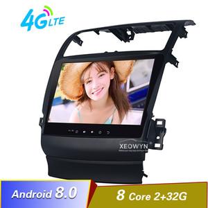 10.1inch Android 8.0 DVD del coche de radio estéreo para Acura TSX 2004-2008 GPS Ayuda de navegación Control del volante completamente táctil 1024 * 600