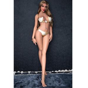 165cm Frauen mit Schwanz Puppe Realistische festen Silikon Big Breast Sex-Puppe mit Metallskelett japanischen Adult Love Doll für Sex Vagina echter Pussy Sexy