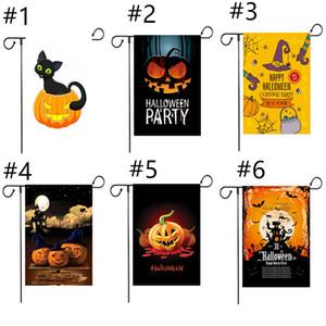 Halloween 30 * 45 Сад Флаги Рождество День благодарения сад Баннер Флаг для партии Тыквенные Призрачные Флаги A03 Бесплатная доставка