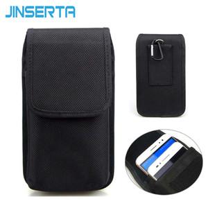 großhandel doppel handy hüfttasche für iphone 6 s plus 5,5 zoll nylon beutel mit gürtelclip holster case für samsung note 5