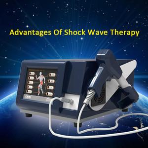 High Tech 6 Bar ondes de choc extracorporelles thérapie par ondes de choc pour douleur à l'épaule traitement ED traitement Shockwave machine Livraison gratuite