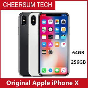 Original desbloqueado o iPhone de Apple X 4G LTE telefone móvel 5.8 '' OLED 12.0MP 3G RAM 64G / 256G ROM Celular livre DHL