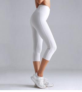 Virson новый дизайн женские леггинсы с вырезом узкие брюки для йоги Runing Jogger Active Tight Yoga Running Crop брюки