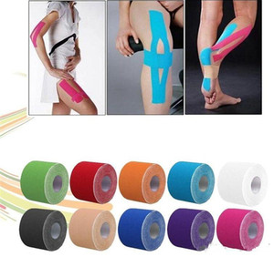 NEW Sports Tape Kinesiology Kinesio Roll Cotton Elastic Adhesive Muscle 5cm x 5m Bandage Physio Strain Injury Support