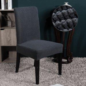 Polaire Chair Fabric Couverture Housses de chaise pour les mariages Slipcovers extensible amovible Salle Seat Covers Siège Housse De Chaise
