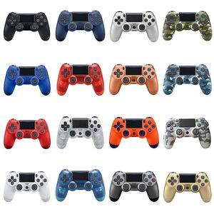 in magazzino PS4 controller wireless di alta qualità Gamepad 22color per PS4 barra di comando del regolatore del gioco di trasporto