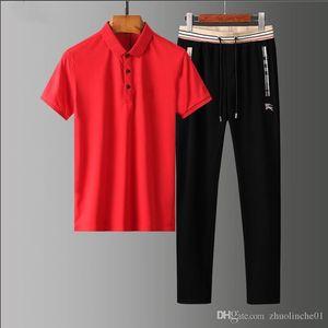 Brand spring and summer men's wear intellectual generous jogger leisure fashion designer lapel trousers sportswear -Luxury fabrics-cont