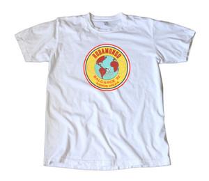 Yeni Tasarım T Shirt Baskı erkek% 100% Pamuk Ekip Boyun Kısa Kollu Vintage Rodamundo Arjantin Bikeer Yarış Çıkartması Tee