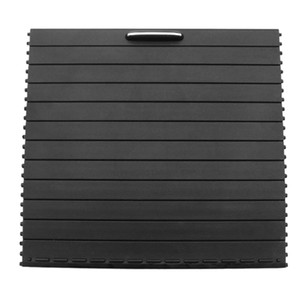 Car Center Console Blenden Becherhalter Slide Rollo-Abdeckung für Ml / Gl / Gle / Gls Klasse W166 W292 2012-2018