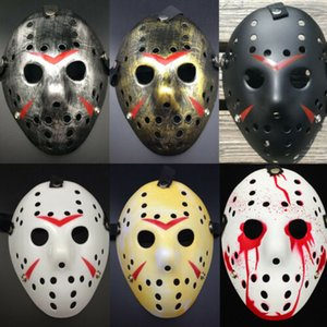 2019 New Arrival Jason Voorhees Horrific Party Mask Friday the 13th Horror Movie Hockey Mask Scary Halloween Wholesale Hot
