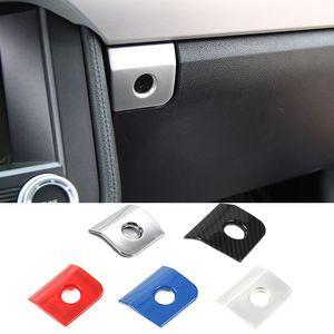 ABS Copilota Storage Box Locker decorazione dell'interruttore della copertura per il Ford Mustang 2015+ accessori interni dell'automobile di alta qualità
