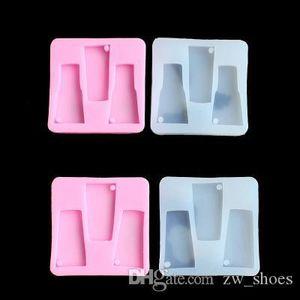 Fai da te Tumbler Stampi In Silicone Tumbler resina stampi in silicone acqua portachiavi in vetro stampo Artigianato Strumenti Stampi per gesso