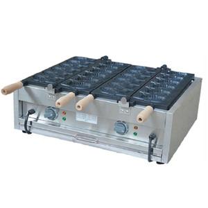 Ticari Makine Kore Balık şekli Kore Taiyaki Waffle Kek Fırın Yapımı Taiyaki Ice Cream Yapışmaz