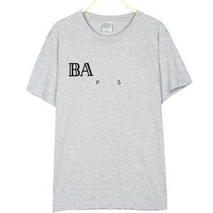 2020 Men T-Shirt Fashion Pirate Letter Printed Round Neck Short Sleeve Men Top Cotton Summer Plus Size 1805065#380