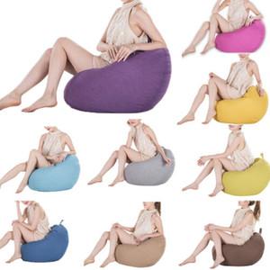 2019 Sıcak Klasik Bean Bag Sandalye Kapak Kanepe Ekstra Büyük Yetişkin Boyut Giysi Saklama Torbası Yeni