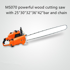 """orange and white color chain saw 4.8 kw 105cc 070 30"""" 36"""" petrol chain saw for discount pric"""