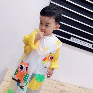 3Fz0b Kinder Regenmantel Mädchen Junge Kindergärten Inflatable Schulranzen Inflatable Mantel Baby wasserdichter starker Poncho Schulranzen Kinder Student