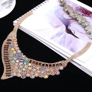 Ironing pattern collar ironing pattern decorative waterdrill glass DIY accessories