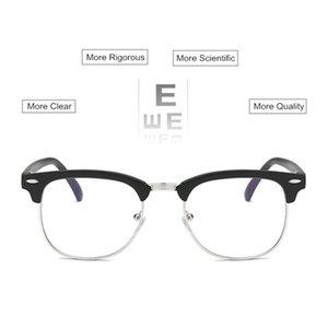 Оптово очки по рецепту близорукости Женщины Мужчины Anti-излучения очки для близоруких UF28