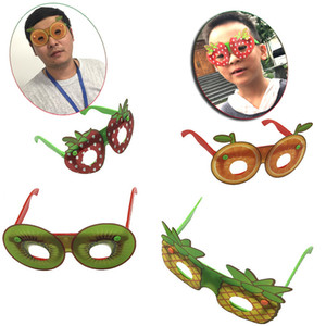 Creative Fruit Shaped Sunglasses Fashion Children Decorative Glasses Handmade DIY Party Eyewear Party Favor