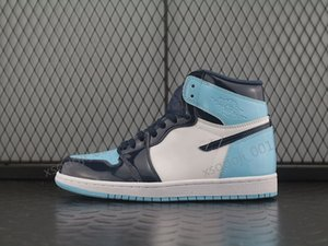 Mens 1 OG Basketball Shoes Banned Mid Bred fearless UNC Gym Red Chicago Black Toe Athletics Top 1s Trainers Mens Designer Shoes Xshfbcl