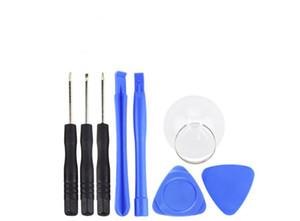 Handys Reparing Werkzeuge 8 in 1 Reparatur-Hebel-Kit Öffnungs-Werkzeug-Pentalob Torx Schlitz-Schraubendreher für iPhone 4 4S 5 5s 6 moblie Telefon