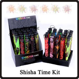 Shisha caneta Eshisha descartável eletrônico cigarros tempo shisha e cigs 500 puffs 41 tipos Hookah caneta VS Puff Bar POP Bar Kit DHL grátis
