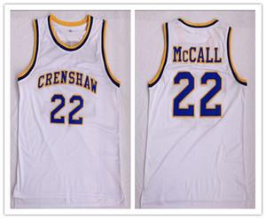 주문 제작 크립 쇼 Epps LOVE 및 BASKETBALL MOVIE # 22 QUINCY McCALL 남성용 농구 유니폼 S-5XL 남성용 남녀 이름
