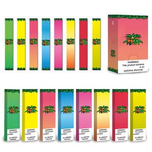 Authentische Poco Bar Einweg Pod Geräte Kit 280mAh Akku 1,3 ml Prefilled Vape-Feder-Stock leeren 8 Farben für Hitt Cali 100% Vorlage