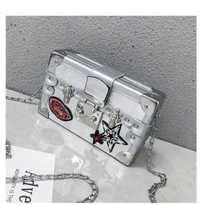 2019 Flash Strass Evening Bags Luxury Noble Colorful Simple Wrap Pacchetto Meeting Dinner Clutch Handbag