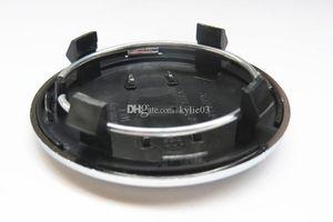 20pcs 69 millimetri grigio / Cap Centro nero rotella Cap / Mozzo ruota copertura dell'automobile del distintivo dell'emblema Per A4 A6 RS6 Logo LEGA BADGE, 4B0601170A, styling auto