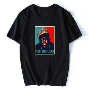 R.I.P Notorious Big Shirt der Männer kurze Hülsen-schwarzes T-Shirt Hiphop-Felsen-T-Shirt Male Notorious B.I.G. T Shirts