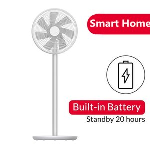 Xiaomi Youpin SMARTMI Standing Floor Fan 2 2S DC Pedestal Standing Portable Fans Rechargeable Air Conditioner Natural Wind