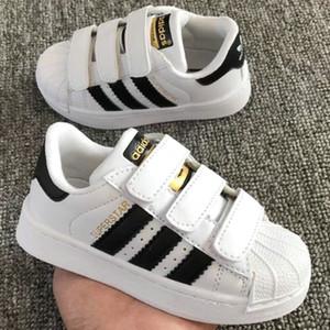 Promocional Venda Quente 2018 Novos clássicos sapatos casuais para crianças nova primavera meninos sapatos meninas esportes sapatos tamanho 17.5 cm -22.5 cm