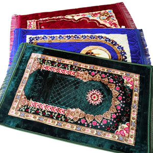 80 * 120 سنتيمتر جميل الألياف القطن ملء سجادة الصلاة الإسلامية بنت الصلاة سجادة سجادة الناعمة المحمولة الصلاة بطانية