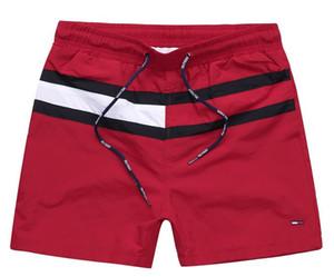 Commercio all'ingrosso solido casuale stile scheda Colore Shorts Mens di estate della spiaggia di shorts Nuoto Shorts Sport Corto