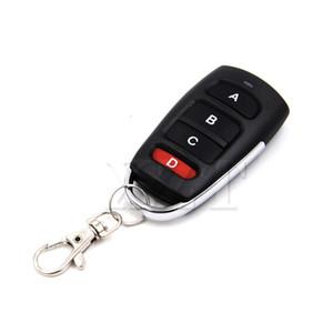 Управление Новейший Универсальный гаражных ворот Remote 4 Кнопка Clone Клонирование Копирование 433mhz Электрический двери гаража Ключ дистанционного управления Дубликатор ключей