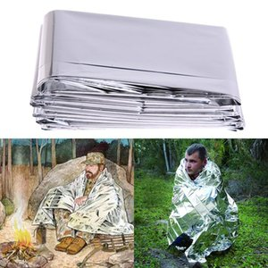 PET Keep Warm Insect Control Outdoor Supplies Emergency Rescue Blanket Reflective Insulation