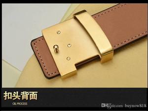 2019 New Fashion Mens Belts Pin Buckle Genuine Leather Design Mens Belt Women Waist Belts Free Shipping Loui Belts For Men V100CM-125CM