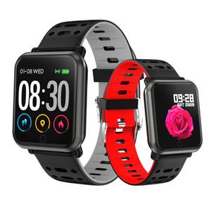 Su geçirmez spor Akıllı İzle P11 Tansiyon Nabız Erkekler Smartwatches Kadınlar ios Android akıllı bilezik saat için