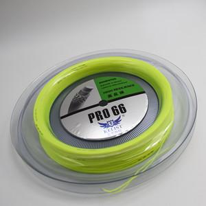 Vente chaude New Color Marque Badminton Enrouleur de haute qualité prenant Pound 30lbs 0.66mm jaune fluorescent