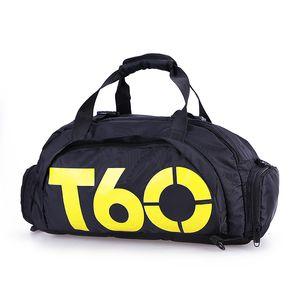 A estrenar Hombres Sport Gym Bag Women Fitness Impermeable al aire libre Espacio separado para zapatos bolsa mochila Ocultar mochila