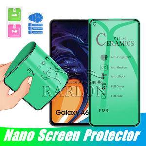 나노 폭발 증거 소프트 세라믹 전화 화면 보호 필름 (11) 프로 맥스 아이폰 7 8 6 6S 플러스 X XS MAX XR 없음이 강화 아이폰 유리
