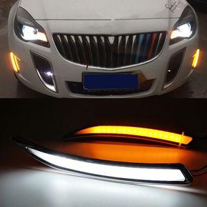 2010 2011 2012 2013 2014 2015 Buick Regal GS Insignia için Işıklar Setleri Running 1 Çifti Otomobil için LED DRL Sis Kapak Gündüz
