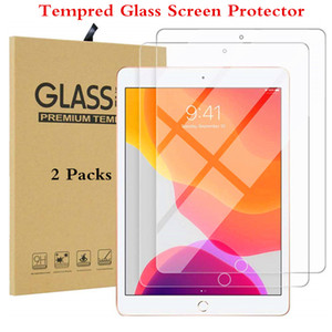iPad 10.2 için Glass Sertleştirilmiş Apple iPad 7 7 Nesil A2232 Tablet Koruyucu Glass için 2019 Ekran Koruyucu