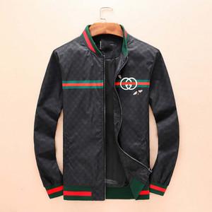 2020 nova marca de moda de luxo de mangas compridas impressa blusão jaqueta casual encapuzados tigre dos homens jaqueta imprimir Medusa jaqueta de seda do hoodie