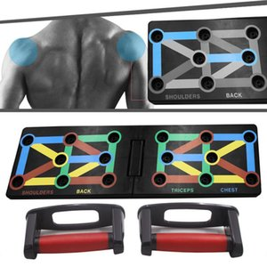 9 In 1 Push Up Rack Board Men Women Comprehensive Fitness Exercise Push-Up Stands Body Building Training System Equipment