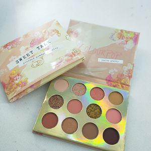 Makeup eyeshadow Colourpop sweet talk pressed powder palette Colourpop you're pretty 12colors  pcs eye shadow dhl free shipping
