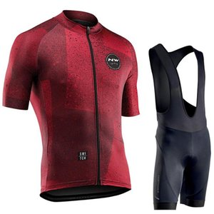 Northwave 2020 Men Cycling Jersey Summer Short Sleeve Set Maillot bib shorts Bicycle Clothes Sportwear Shirt Clothing Suit NW